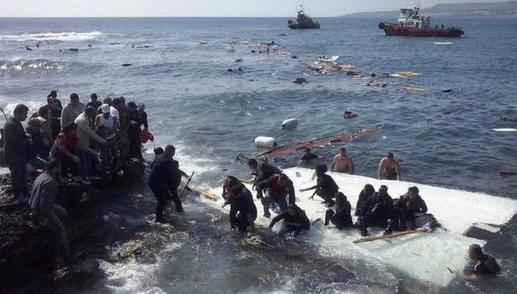 Dramáticas imágenes de nuevos naufragios en el Mediterráneo