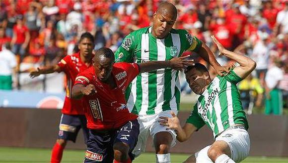 Medellín ganó 2-1 a Atlético Nacional por clásico Liga Águila