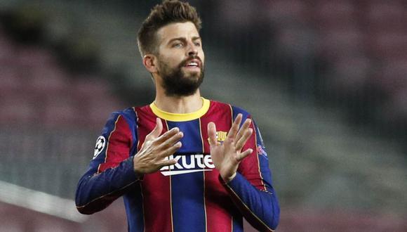 Barcelona confirmó la lesión de Gerard Piqué. (Foto: Reuters)