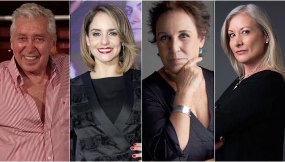 Oswaldo Cattone, Marisa Minetti, Grapa Paola y Gabriela Billoti son artistas argentinos de corazón peruano. (Fotos: USI - Mario Zapata / Andrés Paredes / Scenika )