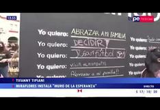 """Miraflores: personas escriben sus deseos en """"Muro de la Esperanza"""""""