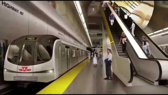 """El MTC remarcó que las obras de la Línea 2 del Metro de Lima y Callao continuarán sin alteraciones luego de que se aprobara el Estudio Definitivo de Ingeniería (EDI) de la Estación E21 """"Óvalo Santa Anita"""". Esta semana se empezará a construir dicha terminal. (Difusión)"""