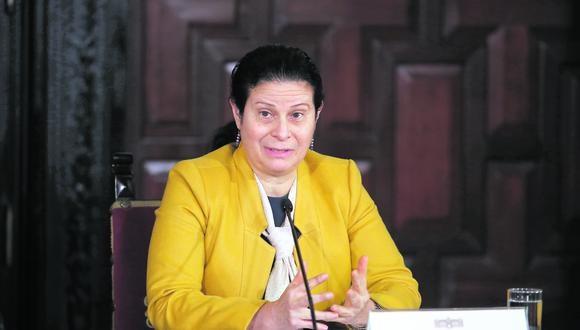 Socorro Heysen espera que la investigación de la Comisión de Defensa del Consumidor sea estrictamente por asuntos que le competen. (Foto: Juan Ponce / Archivo)