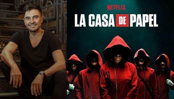 """José Manuel Seda se une a la quinta y última temporada de """"La casa de papel"""". (Foto: @josemanuelseda/Netflix)"""