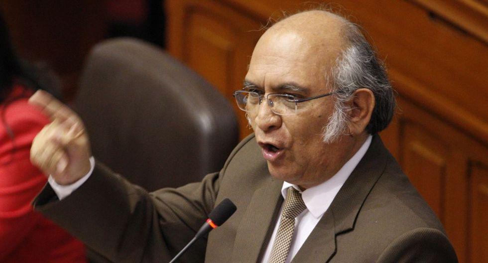 Julio Rosas, ex Alianza para el Progreso. (Foto: Agencia Andina)