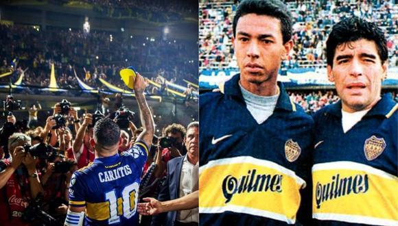 Carlos Tévez tiene once títulos con Boca Juniors. Uno de los más ganadores en la historia del 'Xeneize' tuvo a 'Ñol' Solano como uno de sus ídolos.
