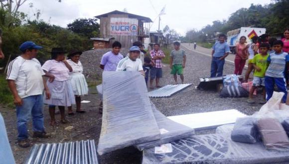 Quimbiri: huaico dejó 3 muertos y 63 damnificados