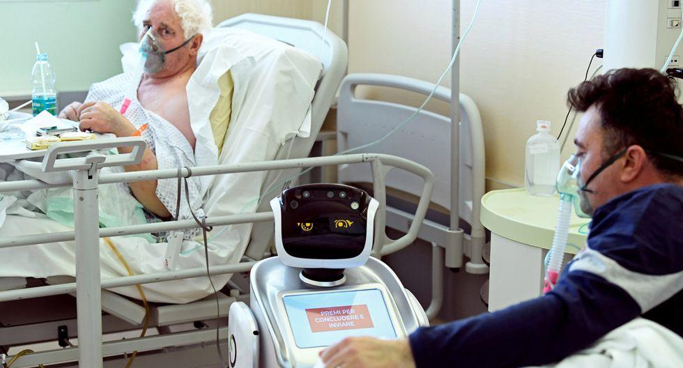 Al inicio, los pacientes mostraron desacuerdo con el robot, pero al apreciar sus virtudes, cambiaron de opinión. (Foto: Reuters/Flavio Lo Scalzo)