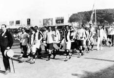 Selección peruana: crónica del primer partido de la Blanquirroja hace 93 años