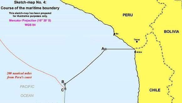 Coordenadas de límite marítimo podrían fijarse el 26 de febrero