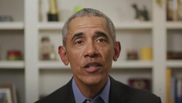 El expresidente de Estados Unidos, Barack Obama, habla sobre la salud de mandatario Donald Trump. (Foto: Handout / AFP).