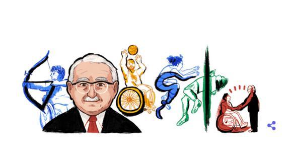 Ludwig Guttmann: Google celebra con doodle al padre del movimiento paralímpico. (Google).