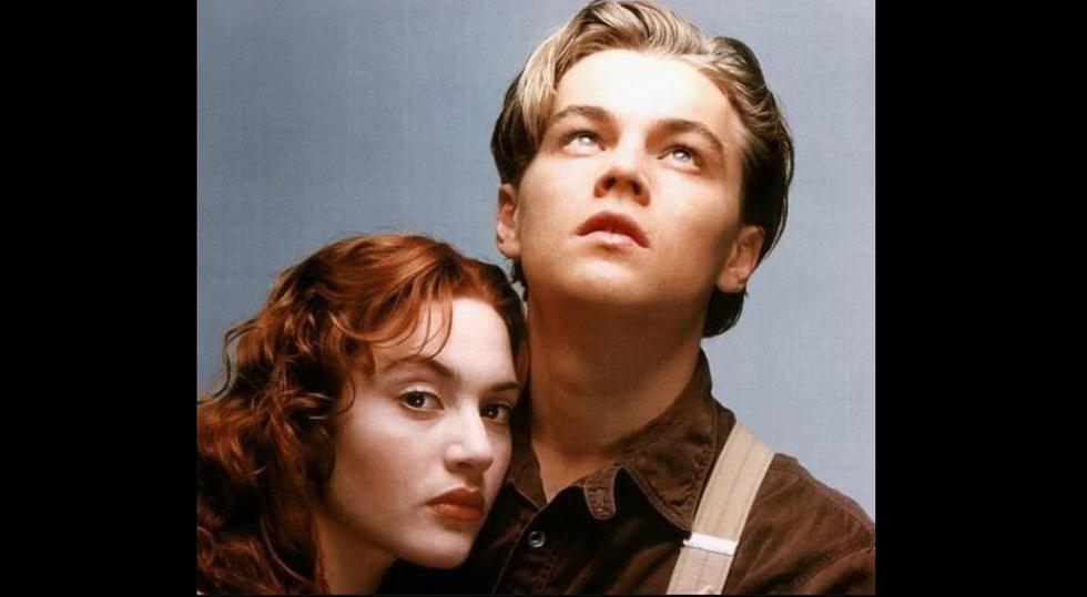 """Leonardo DiCaprio y Kate Winslet como Jack y Rose en """"Titanic"""", filme que llegó a los cines hace 20 años. (Foto: Difusión)"""