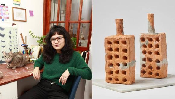 """""""18 huecos"""", obra de la artista Viviana Balcazar, fue anunciada ganadora del XXI Concurso De Escultura Premio IPAE a La Empresa, organizado por el C.C. Británico y auspiciado por IPAE. La decisión generó debate en las redes sociales. (Foto: Británico)"""