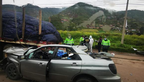 Accidente se registró en la zona conocida como 'El Bosque'. (Foto: PNP)