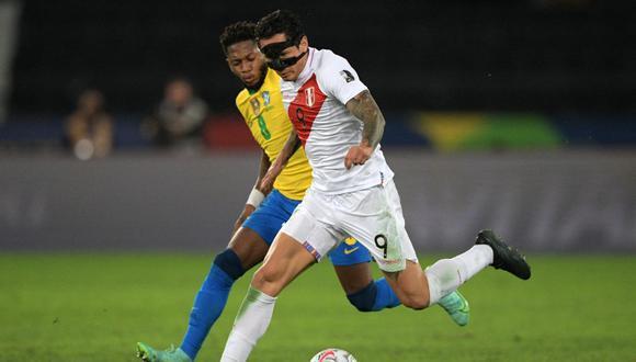 Gianluca Lapadula suma dos goles en lo que va de la Copa América 2021. (Foto: AFP)