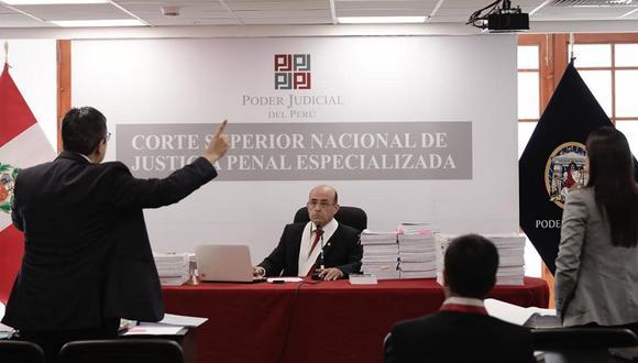 Juez Víctor Zúñiga está a cargo del caso desde el 2019. (Foto: Ángela Ponce)