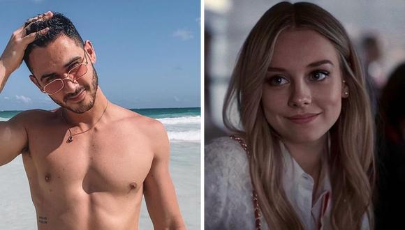 El actor Alejandro Speitzer publicó una tierna fotografía al lado de Ester Expósito afirmando cuánto la extraña. (@alejandrospeitzer / @ester_exposito).