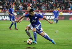Paraguay rescató un empate sobre la hora ante Eslovaquia