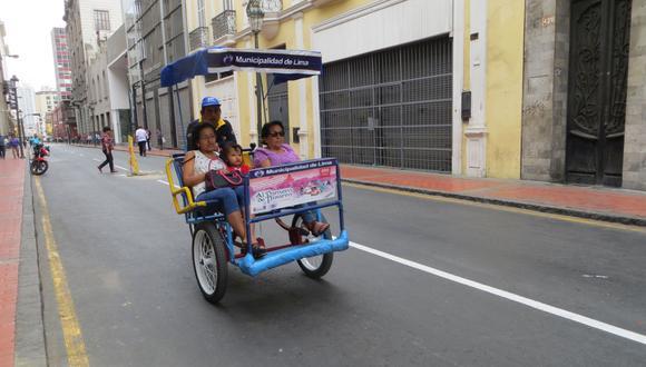 Este domingo se realizarán actividades culturales y recreativas en el Centro de Lima. (Foto: El Comercio / Archivo)