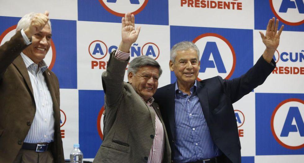 El ex primer ministro César Villanueva fue elegido congresista por APP  con 25,607. Postuló en San Martín, donde había sido gobernador regional. (Foto: Archivo El Comercio)
