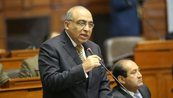 Notaría de congresista Francisco Villavicencio contrató con el Estado. (Foto: Congreso de la República)