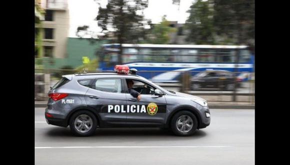 Vuelco de patrullero inteligente dejó dos policías heridos