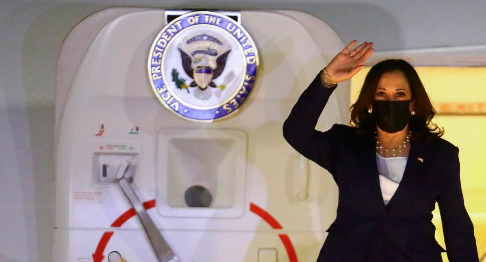 Kamala Harris arrives in Mexico to meet with AMLO and discuss migration to the United States
