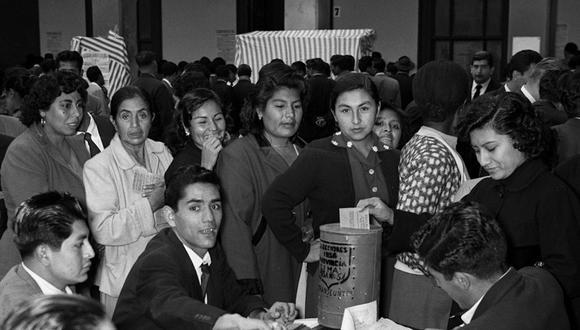 Un 7 de junio de 1956 las mujeres peruanas participaron por primera vez de un proceso electoral.
