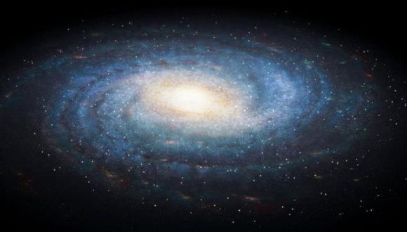 La Vía Láctea tiene 100.000 años luz de diámetro. (GETTY)