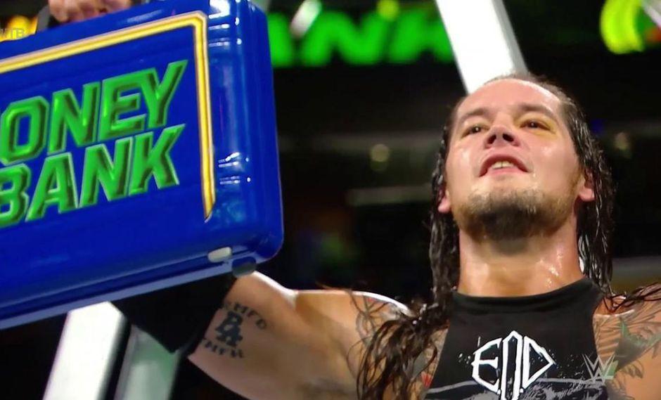 Baron Corbin fue el gran ganador de Money in the bank. (Foto: WWE)