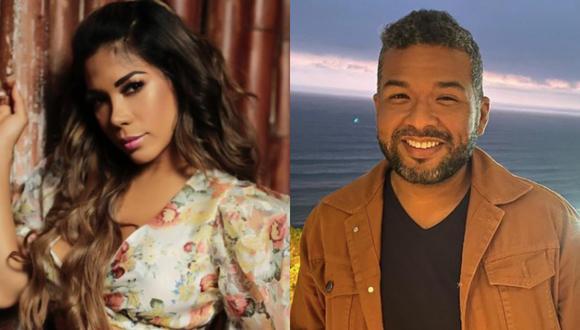 Karen Dejo, 'Choca' Mandros y Peter Fajardo fueron vistos en una discoteca de Punta Hermosa. (Foto: Instagram / @karendejo / @chocamandrose)