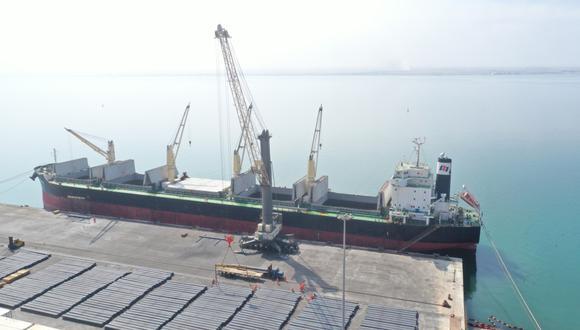 Es la primera vez que Aceros Arequipa exporta productos a China. (Foto: Aceros Arequipa)