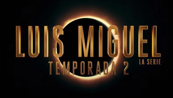 """Arte promocional de """"Luis Miguel, la serie"""", que regresa a Netflix. ¿El 'Sol de México' está por conocer un eclipse en su vida? Fuente: Netflix."""