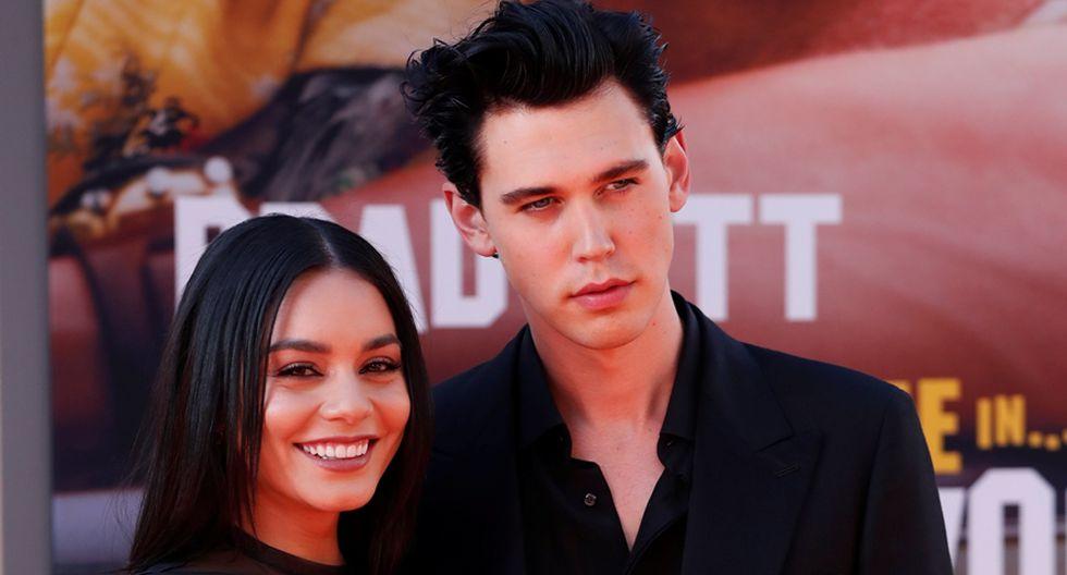 Vanessa Hudgens y su ex novio, el actor Austin Butler. (Foto: Agencia)