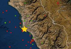 Callao: sismo de magnitud 3,5 se reportó la noche de este sábado