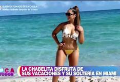 """Isabel Acevedo habla sobre su estadía en Miami: """"Estoy buscando nuevos horizontes"""""""