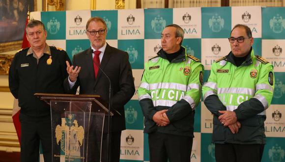 El alcalde de Lima informó que el 'pico y placa' iniciará el lunes 22 de julio con un plan piloto durante los Juegos Panamericanos Lima 2019. (Manuel Melgar)