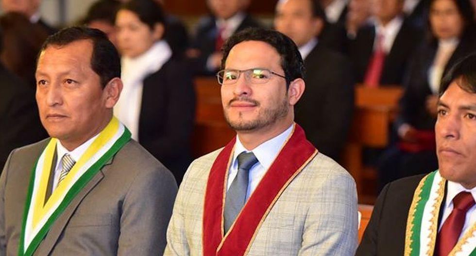 Fernando Pool Orihuela Rojas es el nuevo gobernador regional de Junín. (Foto: Gobierno Regional de Junín)
