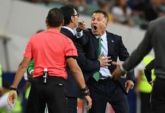 México vs. Portugal: la iracunda reacción de Juan Carlos Osorio contra el cuarto árbitro