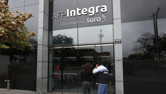 AFP Integra ofrecerá una comisión mixta de 0,2449% a sus afiliados. (Foto: GEC)