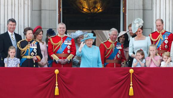 La familia real británica en una imagen del 9 de junio del 2018. (Foto de Daniel LEAL-OLIVAS / AFP).