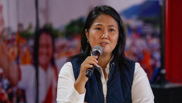 Keiko Fujimori ha sido acusada por diversos delitos. El equipo especial Lava Jato ha solicitado una pena de 30 años y 10 meses en su contra. Foto: AFP / Gian MASKO