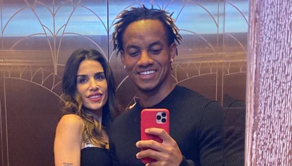 Suhaila Jad, pareja de André Carrillo, muestra su avanzado embarazo en redes sociales. (Foto: @suhailajad).
