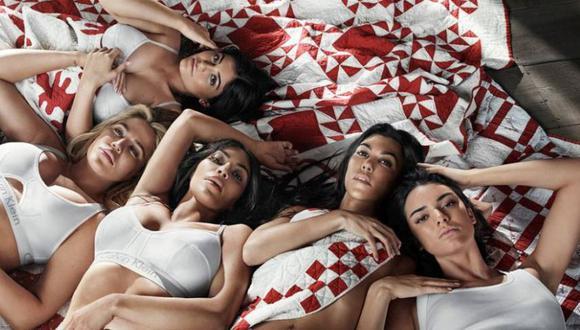 La popularidad para esta familia llegó cuando un video íntimo de Kim fue publicado en Internet y esto les dio la oportunidad de protagonizar su primer reality en el 2007. (Foto: Calvin Klein)