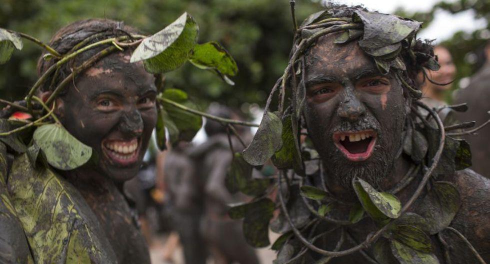 Carnaval de Paraty: entre el lodo y alegría en Brasil [FOTOS] - 7