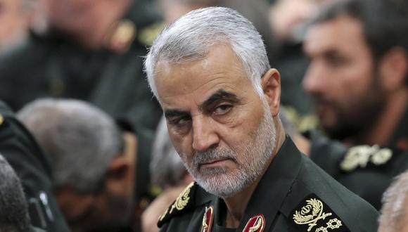 El general iraní Qasem Soleimani fue asesinado en Irak por un dron de Estados Unidos. (AP).
