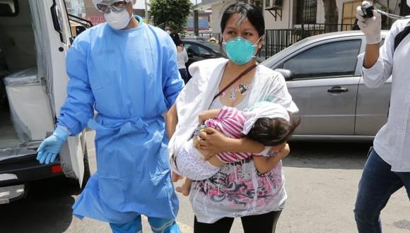 La pequeña fue dada de alta de la Unidad de Cuidados Intensivos (UCI), pero aún continúa en el hospital. Sin embargo, se estaría evaluando el proceso de aislamiento domiciliario para la menor. (Foto: Fernando Sangama/ GEC)