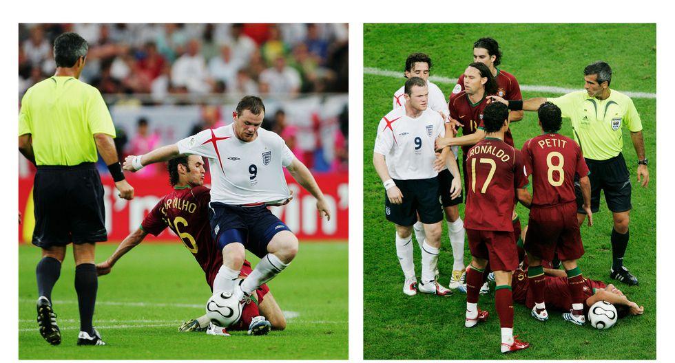 Las faltas más recordadas en los Mundiales  - 5