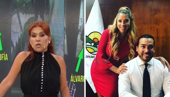 Magaly Medina criticó al alcalde de LA Molina, Álvaro Paz de La Barra, por su actitud frente a lo sucedido por Sofía Franco. (Foto: Captura ATV / @sofiafrancoayllon)